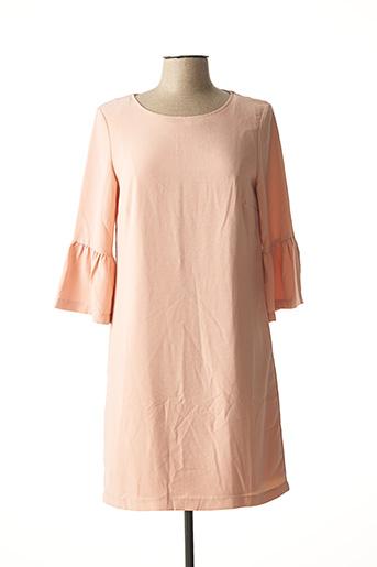 Robe courte rose ESQUALO pour femme