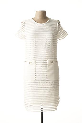 Robe mi-longue beige ESQUALO pour femme