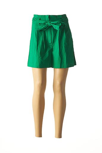 Short vert COMPAÑIA FANTASTICA pour femme