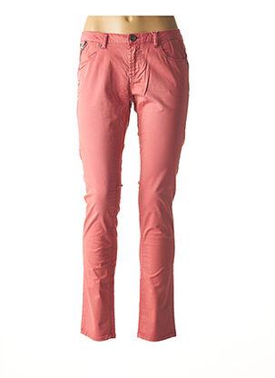 Pantalon casual rose GARCIA pour femme