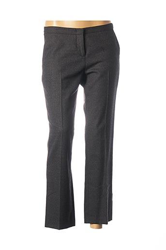 Pantalon 7/8 gris FABIANA FILIPPI pour femme