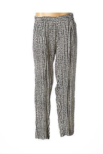 Pantalon chic noir MAX & MOI pour femme