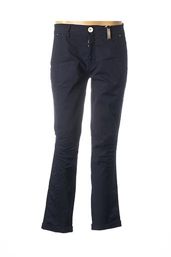 Pantalon casual bleu HIGH pour femme