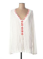 T-shirt manches longues blanc MARC AUREL pour femme seconde vue