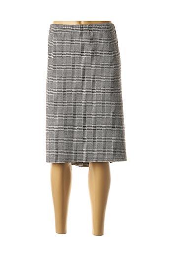 Jupe mi-longue gris CISO pour femme