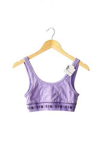 Brassière violet DIM pour femme