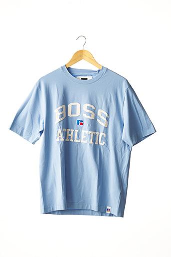 T-shirt manches courtes rose HUGO BOSS pour homme