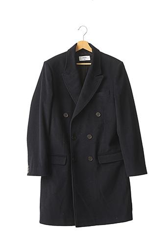 Manteau long bleu INSIMA pour homme