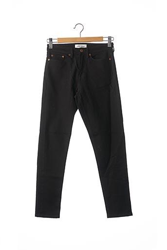 Jeans coupe slim noir SAMSOE & SAMSOE pour homme