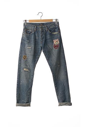 Jeans coupe slim violet RALPH LAUREN pour homme
