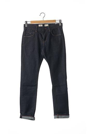 Jeans coupe slim violet TOMMY HILFIGER pour homme