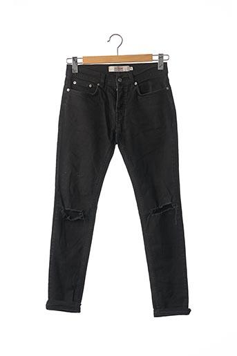 Jeans skinny noir TOPMAN pour homme