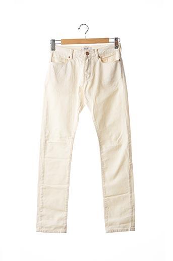Pantalon casual blanc REISS pour homme