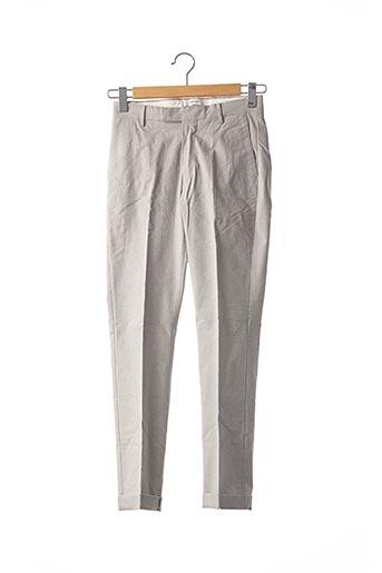 Pantalon casual gris REISS pour homme