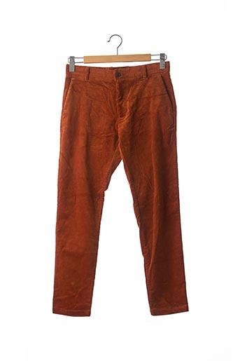 Pantalon casual marron SAMSOE & SAMSOE pour homme