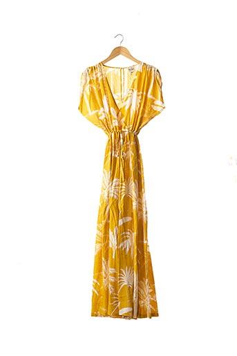 Combi-pantalon jaune WILD pour femme
