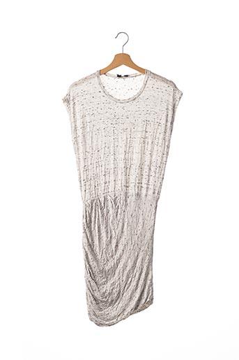Robe mi-longue gris IRO pour femme