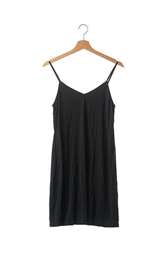 Robe mi-longue noir SAMSOE & SAMSOE pour femme
