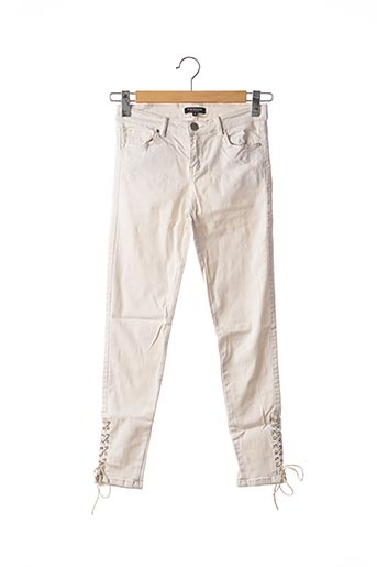 Jeans skinny blanc MORGAN pour femme