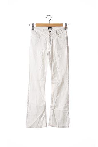 Pantalon casual blanc KOOKAI pour femme