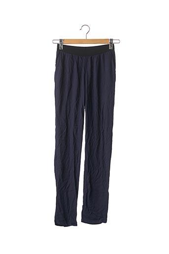 Pantalon casual bleu AMERICAN VINTAGE pour femme