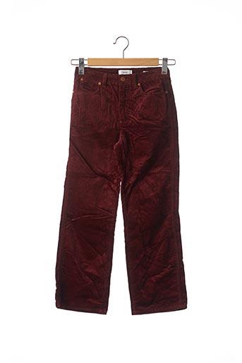 Pantalon casual rouge CLOSED pour femme