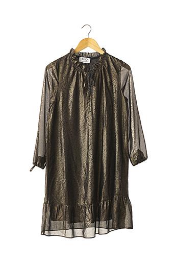 Robe mi-longue noir SUD EXPRESS pour femme