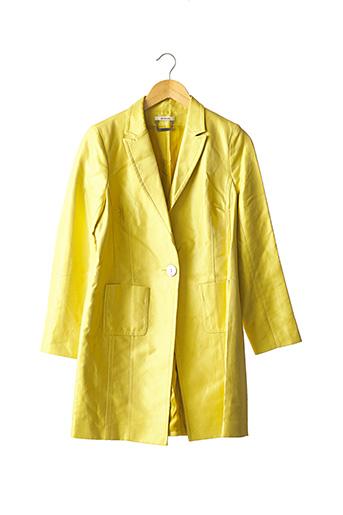Veste chic / Blazer jaune DEVERNOIS pour femme