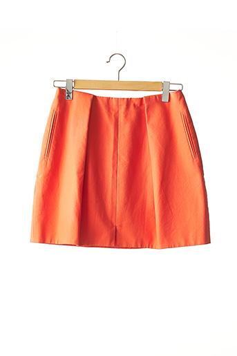 Jupe courte orange CARVEN pour femme