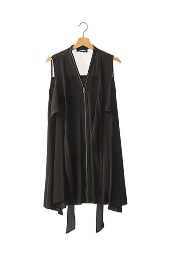Robe mi-longue noir ALLSAINTS pour femme