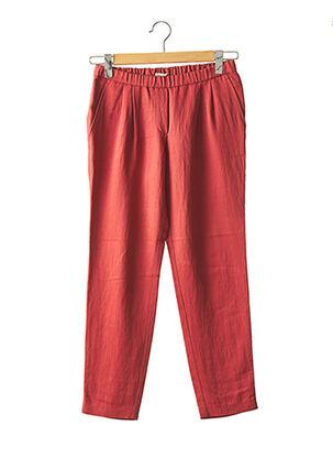 Pantalon casual rouge MASSCOB pour femme
