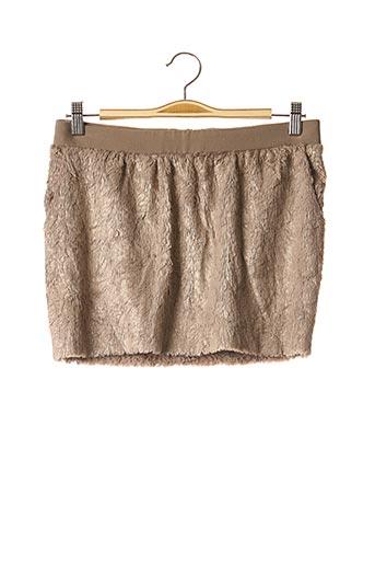 Mini-jupe beige BA&SH pour femme