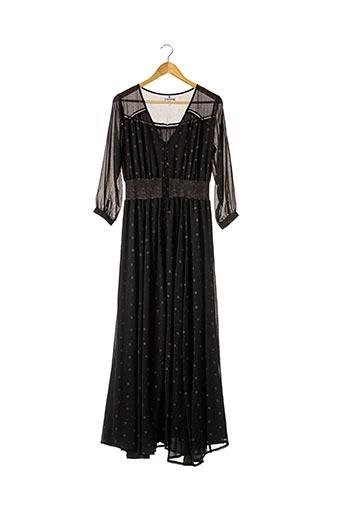 Robe longue noir AMENAPIH pour femme