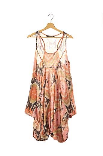 Robe mi-longue rose ALLSAINTS pour femme