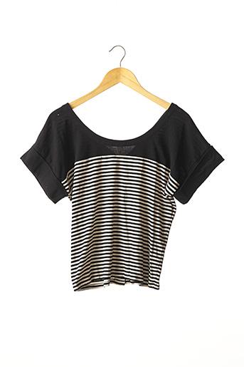 T-shirt manches courtes noir SONIA RYKIEL pour femme