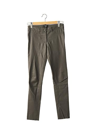 Pantalon casual gris ARMA pour femme