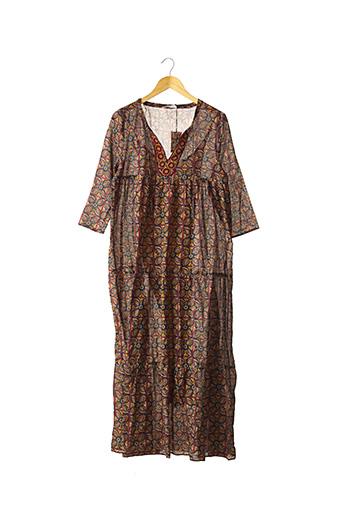 Robe longue rouge BELLA JONES pour femme