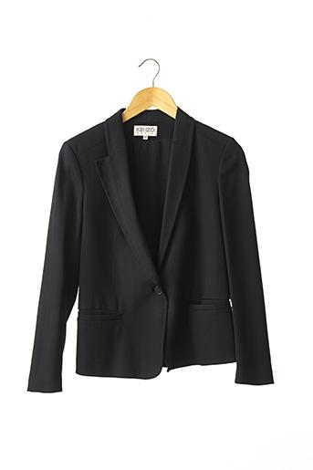 Veste chic / Blazer noir KENZO pour femme