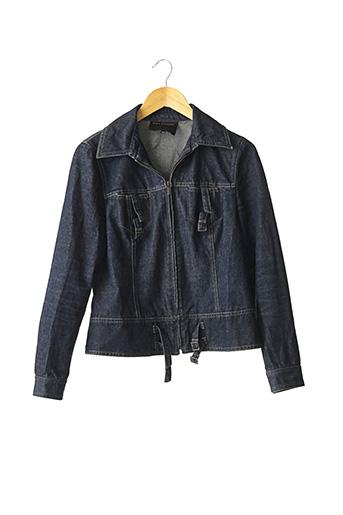 Veste en jean bleu TARA JARMON pour femme
