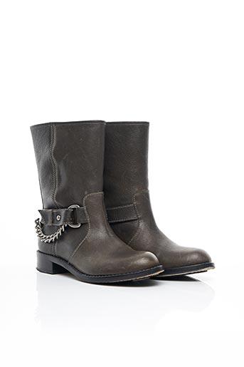 Bottines/Boots marron DKNY pour femme