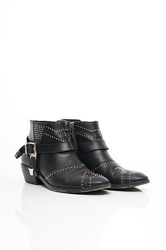 Bottines/Boots noir ANNIE BING pour femme