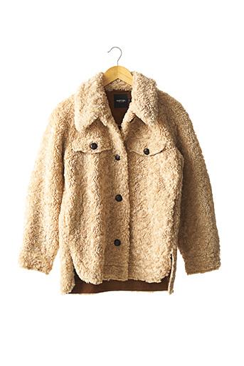 Manteau court beige NASTY GAL pour femme