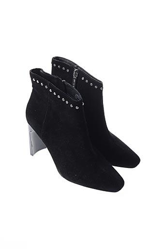 Bottines/Boots noir RIVER ISLAND pour femme