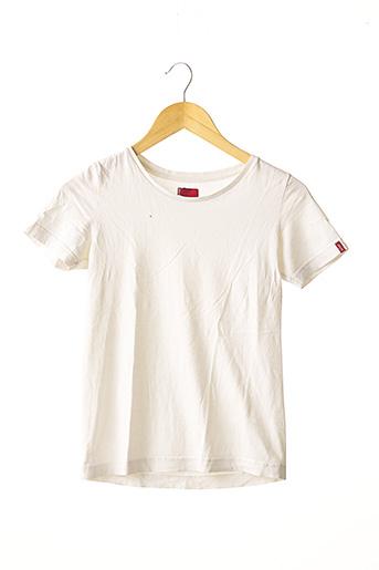 T-shirt manches courtes blanc LEVIS pour femme