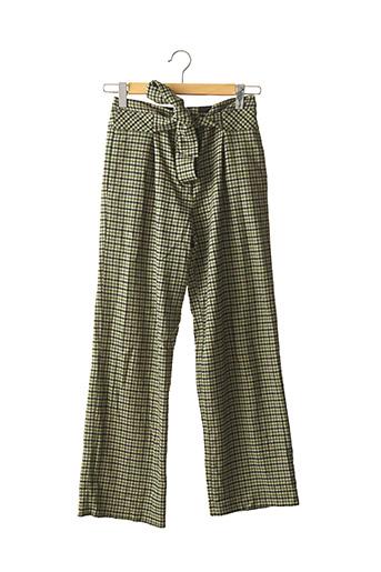 Pantalon casual vert BODEN pour femme