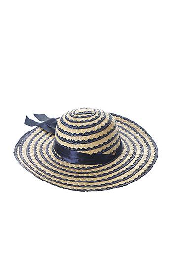 Chapeau bleu SANS MARQUE pour femme