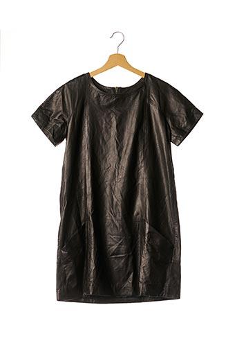Robe courte marron ENES pour femme