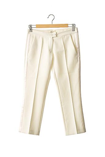 Pantalon chic beige VANESSA BRUNO pour femme