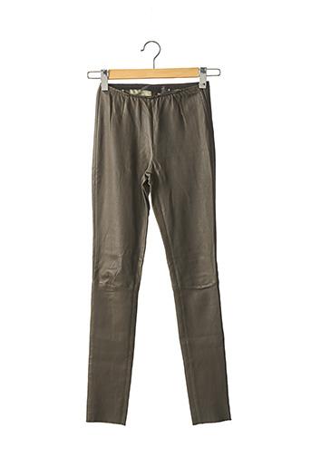 Pantalon casual vert ENES pour femme