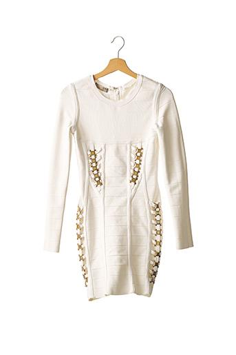 Robe mi-longue blanc CHANTAL THOMASS pour femme